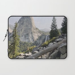 Liberty Cap and Nevada Falls in Morning Light Laptop Sleeve