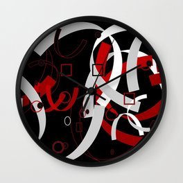Simple Abstract Wall Clock