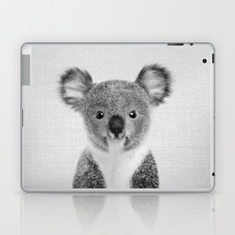 Baby Koala - Black & White Laptop & iPad Skin