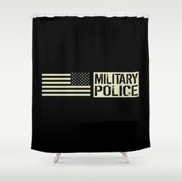 U.S. Military: Military Police Shower Curtain