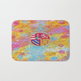 Arms of Marie Antoinette Bath Mat