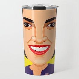 Alexandria Ocasio Cortez Travel Mug