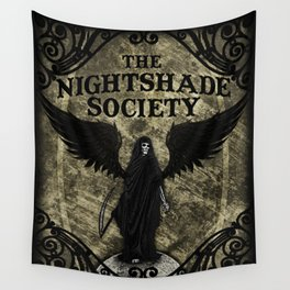 The Nightshade Society Wall Tapestry