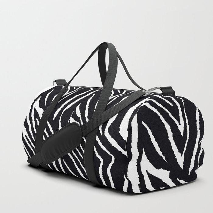 ZEBRA YELLOW ORCHIDS TROPICAL BLOOM Duffle Bag