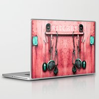kitchen Laptop & iPad Skins featuring KITCHEN EQUIPMENT by CAPTAINSILVA