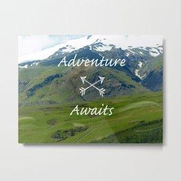 Icelandic Scenes - Adventure Metal Print