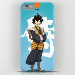 Dragon Ball Bushido : Vegeta iPhone Case