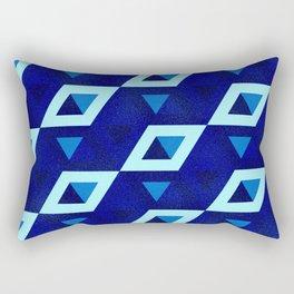 Textura Art Deco y algo más Rectangular Pillow