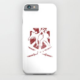 I Don't Need A Weapon Martial Arts Artist Kung Fu iPhone Case