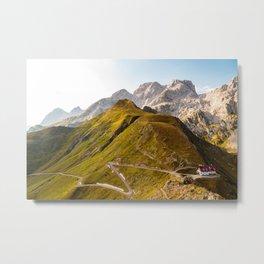 Sunset in the Carnic Alps, Friuli Venezia-Giulia, Italy Metal Print
