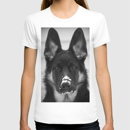 Snowy Puppy T-shirt