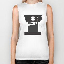 Caffeine Please Biker Tank
