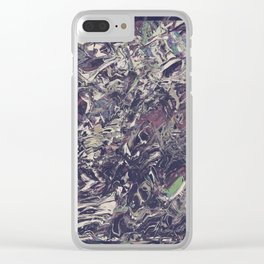 Camo 03 Clear iPhone Case