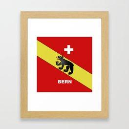 Bern City Of Switzerland Framed Art Print