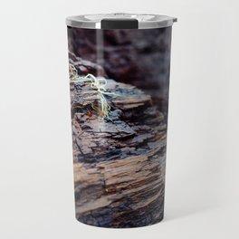 Wooden Texture Travel Mug