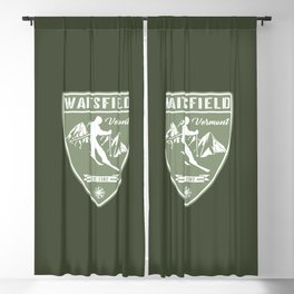 Waitsfield Vermont Blackout Curtain