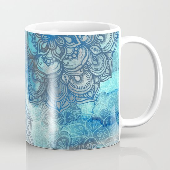 Lost in Blue - a daydream made visible Mug