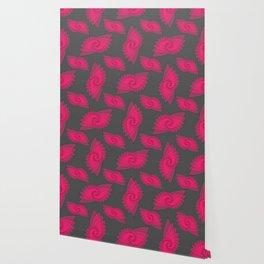 hypnotized - fluid geometrical eye shape Wallpaper