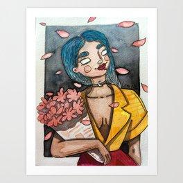 Flower´s amazon Art Print