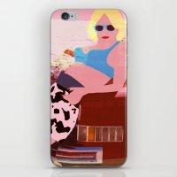 alabama iPhone & iPod Skins featuring Alabama by Ashley