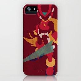 Megaman Zero iPhone Case