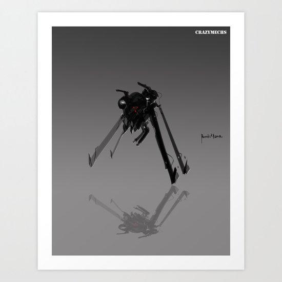 Crazymechs Buster Art Print