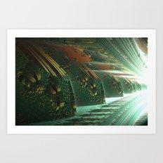 Cannon Battery (Light) Art Print