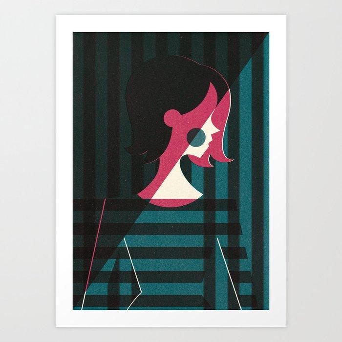 Control (Part II) Art Print