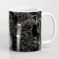 panther Mugs featuring Panther by Tish