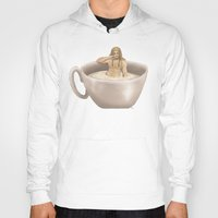 fili Hoodies featuring A Cup of Fili by AlyTheKitten