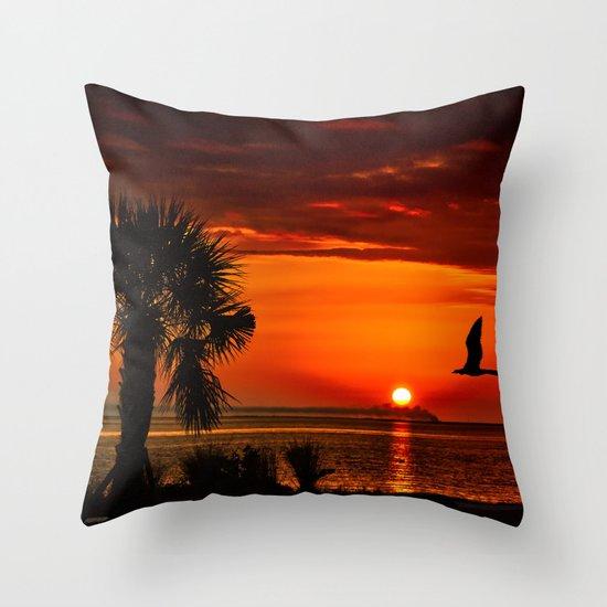 Take me to the sun Throw Pillow