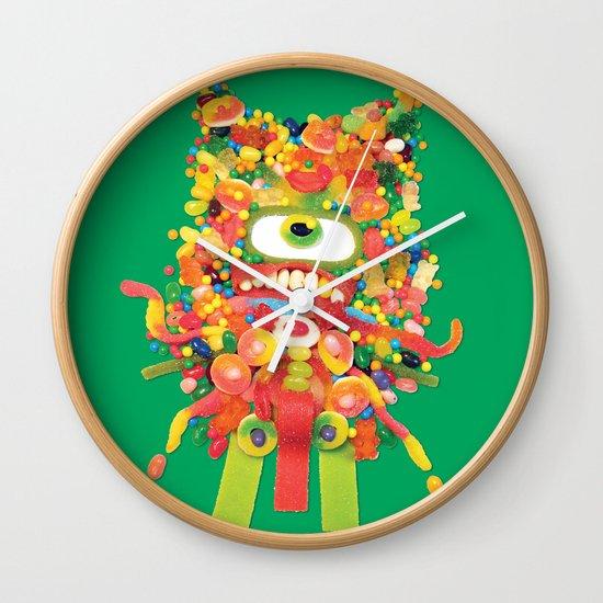 Sweet Monster Wall Clock
