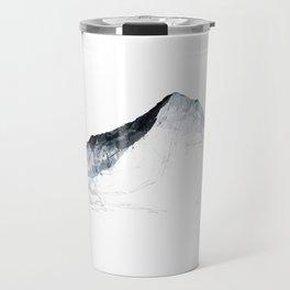 MOUNT EVEREST mountainsplash grey Travel Mug