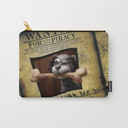 Monkey Island - WANTED! Spiffy, the Scumm Bar dog Carry-All Pouch