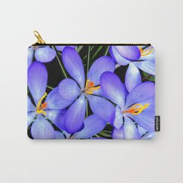 Blue Wildflowers Carry-All Pouch