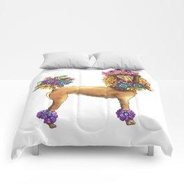 Poodle Dee Doo Comforters