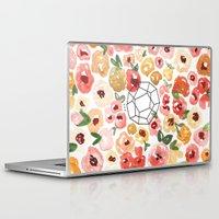 true blood Laptop & iPad Skins featuring TRUE by Wallflower DesignCo.