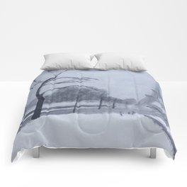 En hiver II Comforters