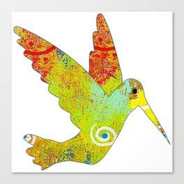 Along the Rio Grande: Hummingbird Canvas Print