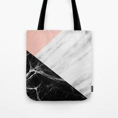Marble Collage Tote Bag