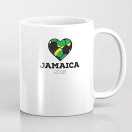 Jamaica Soccer Shirt 2016 Coffee Mug