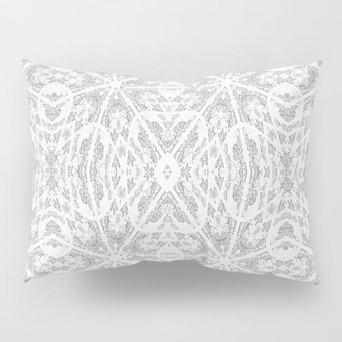 Pattern Grey / Gray Pillow Sham
