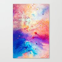 cosmos Canvas Prints featuring Cosmos by Kimsey Price
