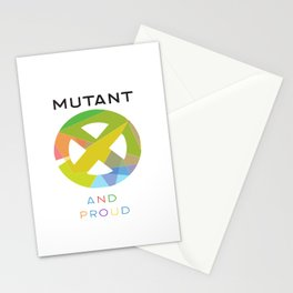 Mutant And Proud Stationery Cards