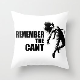 The Cant Throw Pillow
