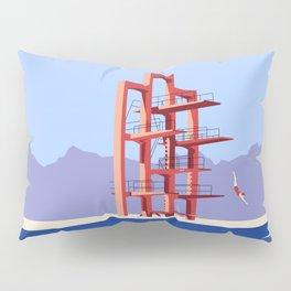 Soviet Modernism: Diving tower in Etchmiadzin, Armenia Pillow Sham