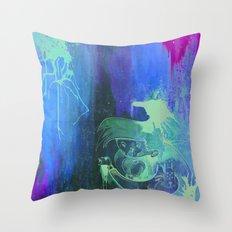 Rumors of Happy Ness Throw Pillow