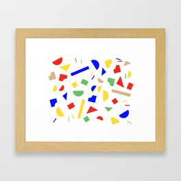 KONSTRUKTOR 1. Framed Art Print