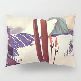 Keystone Colorado Ski poster Pillow Sham