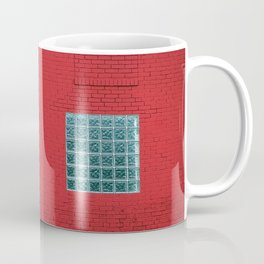 Red And White Bricks Coffee Mug